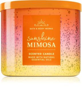 Bath & Body Works Sunshine Mimosa świeczka zapachowa