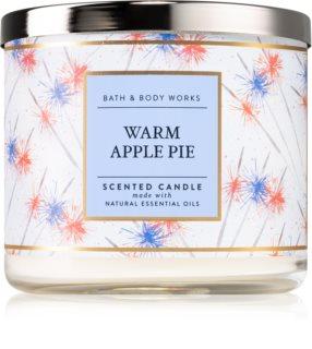Bath & Body Works Warm Apple Pie ароматическая свеча