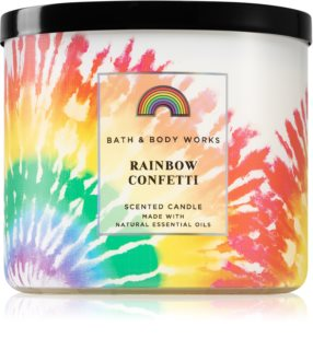Bath & Body Works Rainbow Confett świeczka zapachowa
