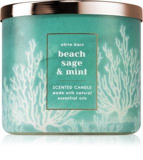 Bath & Body Works Beach Sage & Mint Duftkerze I.