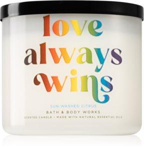 Bath & Body Works Love Always Wins aроматична свічка