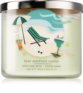 Bath & Body Works Kiwi Starfruit Cooler duftlys