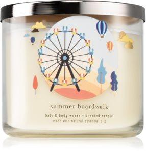 Bath & Body Works Summer Boardwalk vela perfumada