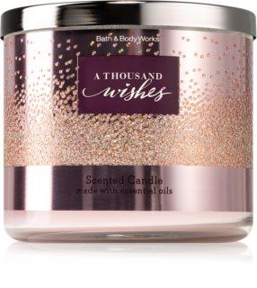 Bath & Body Works A Thousand Wishes bougie parfumée II.