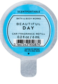 Bath & Body Works Beautiful Day vôňa do auta náhradná náplň