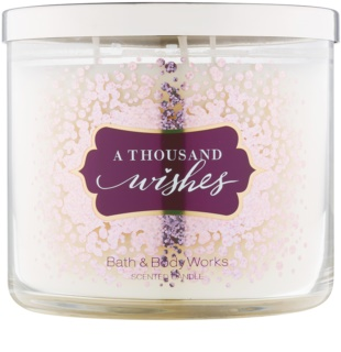 Bath&Body Works A Thousand Wishes bougie parfumée