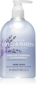 Baylis & Harding English Lavender & Chamomile tekuté mydlo na ruky