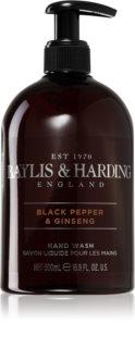 Baylis & Harding Black Pepper & Ginseng mydło do rąk w płynie