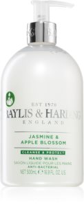 Baylis & Harding Jasmine & Apple Blossom Cleansing Liquid Hand Soap With Antibacterial Ingredients