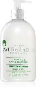 Baylis & Harding Jasmine & Apple Blossom čisticí tekuté mýdlo na ruce s antibakteriální přísadou