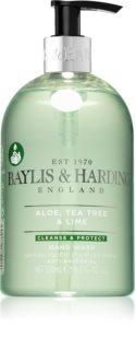 Baylis & Harding Aloe, Tea Tree & Lime sapone liquido per le mani con ingrediente antibatterico
