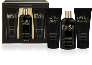 Baylis & Harding Men's Black Pepper and Ginseng coffret cadeau I.