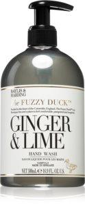 Baylis & Harding The Fuzzy Duck Ginger & Lime tekući sapun za ruke
