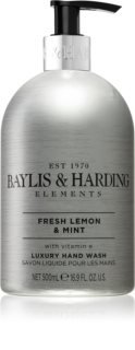Baylis & Harding Elements Fresh Lemon & Mint sapone liquido per le mani