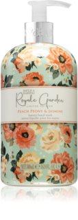 Baylis & Harding Royale Garden Peach Peony & Jasmine mydło do rąk w płynie