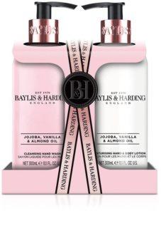 Baylis & Harding Jojoba, Vanilla & Almond Oil ajándékszett (kézre)