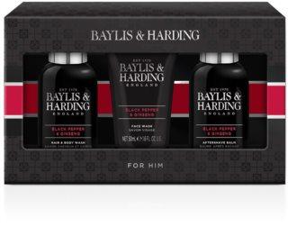 Baylis & Harding Black Pepper & Ginseng dárková sada (na obličej a tělo)