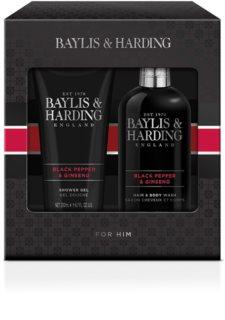 Baylis & Harding Black Pepper & Ginseng dárková sada (na tělo a vlasy)
