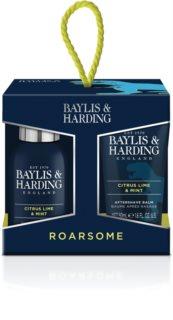 Baylis & Harding Men's Citrus Lime & Mint dárková sada (na obličej, tělo a vlasy)