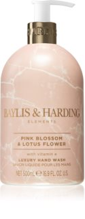 Baylis & Harding Elements Pink Blossom & Lotus Flower tekuté mydlo na ruky