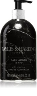 Baylis & Harding Elements Dark Amber & Fig течен сапун за ръце