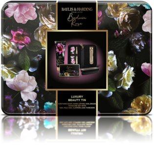 Baylis & Harding Boudoir Rose confezione regalo (per mani e unghie) in lattina