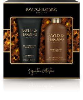 Baylis & Harding Black Pepper & Ginseng confezione regalo (per corpo e capelli)