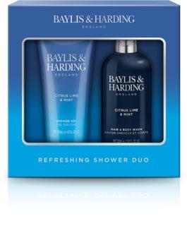 Baylis & Harding Men's Citrus Lime & Mint confezione regalo (per la doccia)