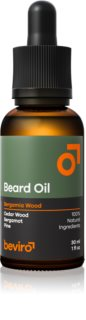 Beviro Bergamia Wood Facial Hair Oil with Woody Aroma