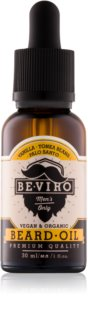Beviro Men's Only Vanilla, Tonka Beans, Palo Santo Beard Oil