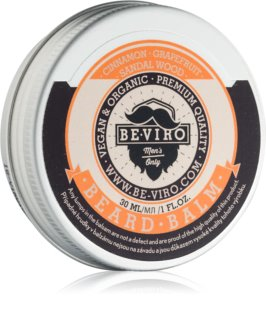 Beviro Men's Only Grapefruit, Cinnamon, Sandal Wood bálsamo para a barba