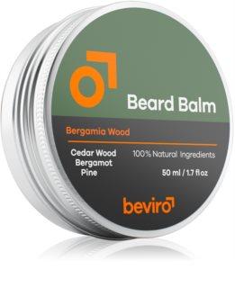 Beviro Bergamia Wood baume à barbe