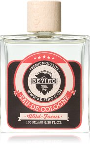 Beviro Men's Only Wild Focus Eau de Cologne for Men