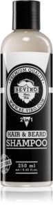 Beviro Men's Only Hair & Beard Shampoo champô para cabelo e barba