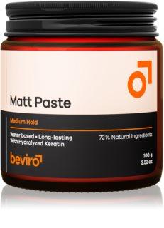 Beviro Matt Paste Medium Hold Paste für das Haar
