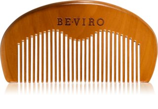 Beviro Men's Only Grooming Wooden Beard Comb