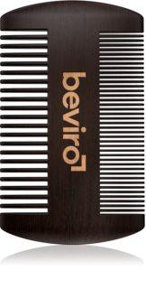 Beviro Pear Wood Beard Comb peine para barba