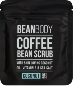 Bean Body Coconut exfoliante corporal con efecto lifting
