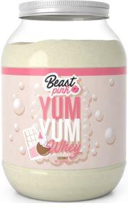 BeastPink Yum Yum Whey Protein syrovátkový protein pro ženy příchuť white chocolate coconut