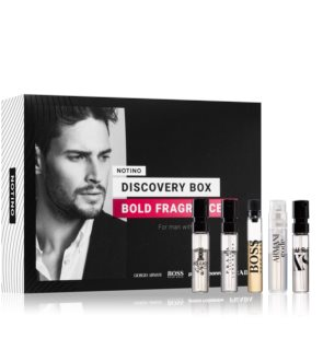 Notino Discovery Box Bold fragrances men Gift Set  voor Mannen