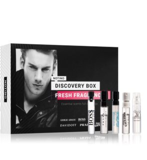 Notino Discovery Box Fresh fragrances men coffret cadeau pour homme