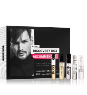 Notino Discovery Box Recommended men Gift Set  voor Mannen