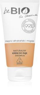 beBIO African Pepper & Almond hydratační krém na ruce