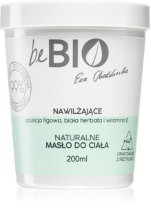 beBIO Fig opuntia oil &  white tea hluboce hydratační tělové máslo