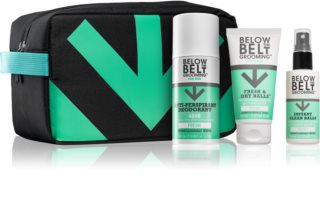 Below the Belt Grooming Fresh Cosmetica Set  II. (voor Mannen )