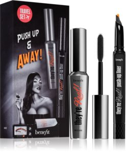 Benefit They're Real! Push-Up & Away kozmetični set