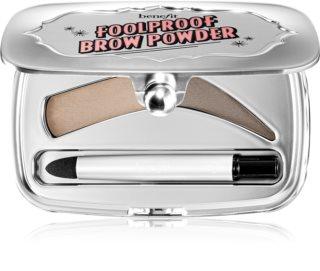 Benefit Foolproof puder za obrvi v praktičnem magnetnem etuiju