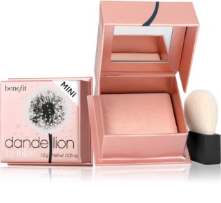 Benefit Dandelion Twinkle Mini озаряваща пудра