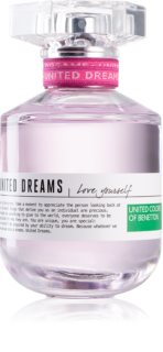 Benetton United Dreams for her Love Yourself Eau de Toilette für Damen