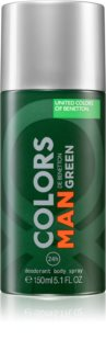Benetton Colors de Benetton Man Green Deodorant Spray für Herren